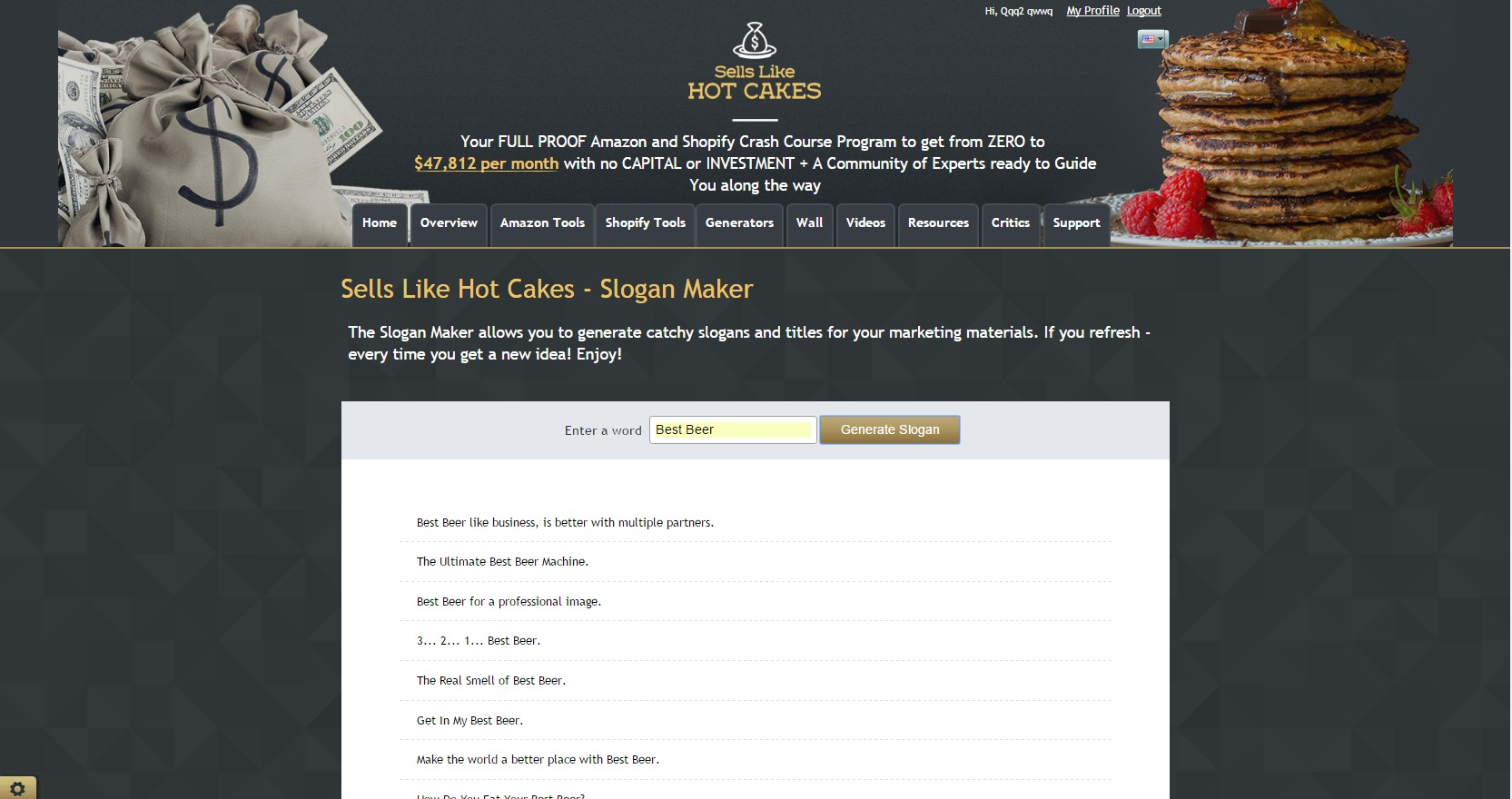 Create Catchy Slogans For Your e-commerce business with Sells Like ...